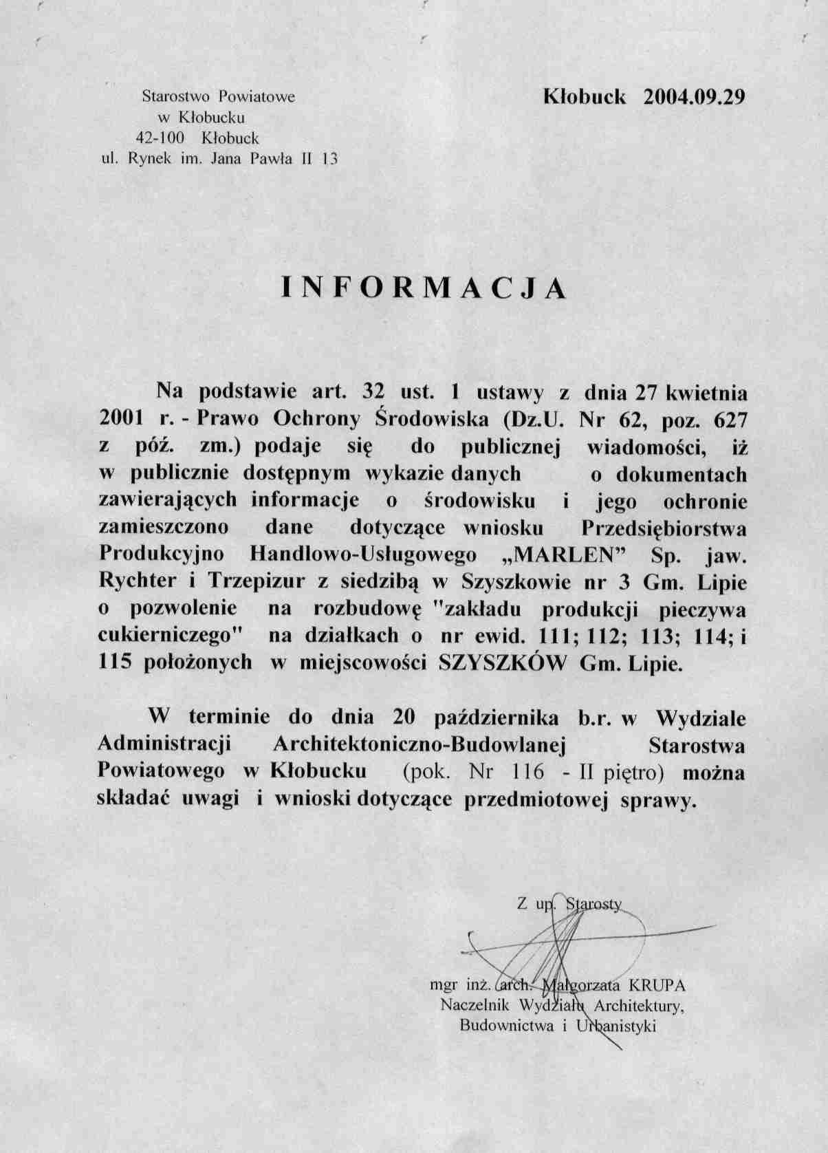 AB - informacja z  dn 29 09 2004.jpeg